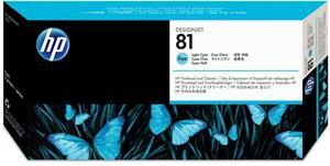 HP 81, tlačová hlava, light cyan, C4954A