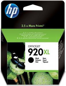 HP 920XL, čierna, CD975AE (1200str)