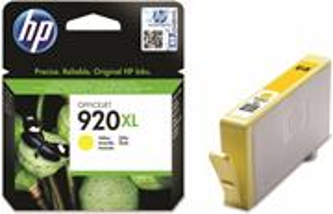 HP 920XL, žltá, 700 strán