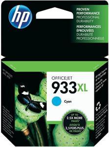 HP 933XL, cyan, 825 strán