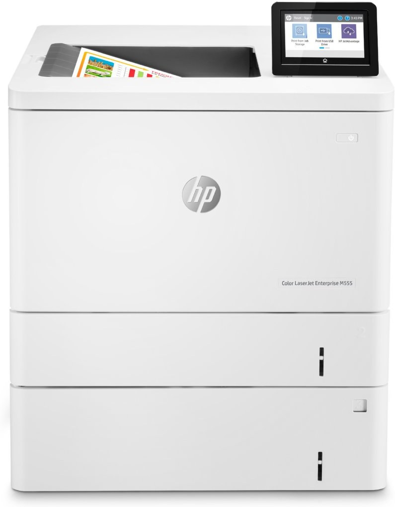 HP Color LaserJet Enterprise M555x, laserová tlačiareň
