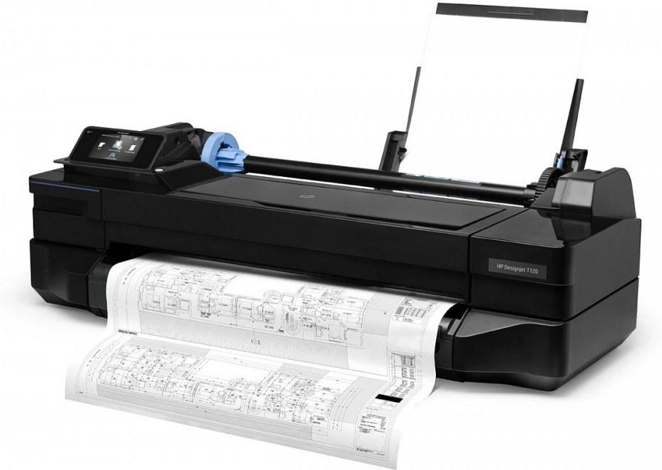 "HP DesignJet T120 ePrinter 24"""