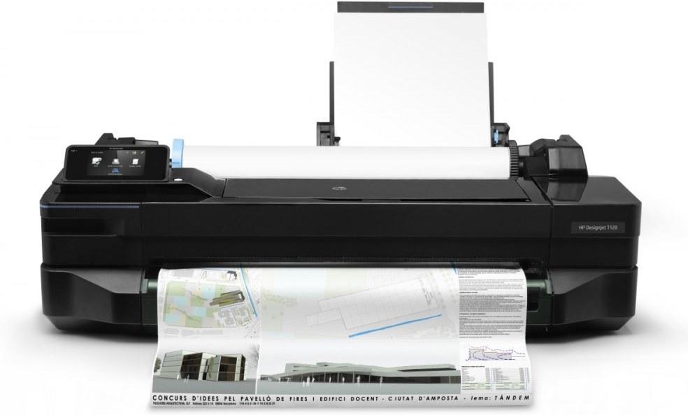 HP DesignJet T120 pre 610 mm média