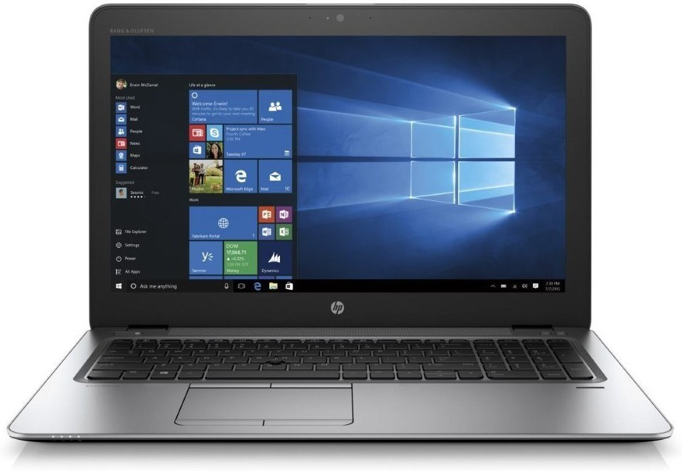 HP EliteBook 850 G4 Z2W85EA, strieborný