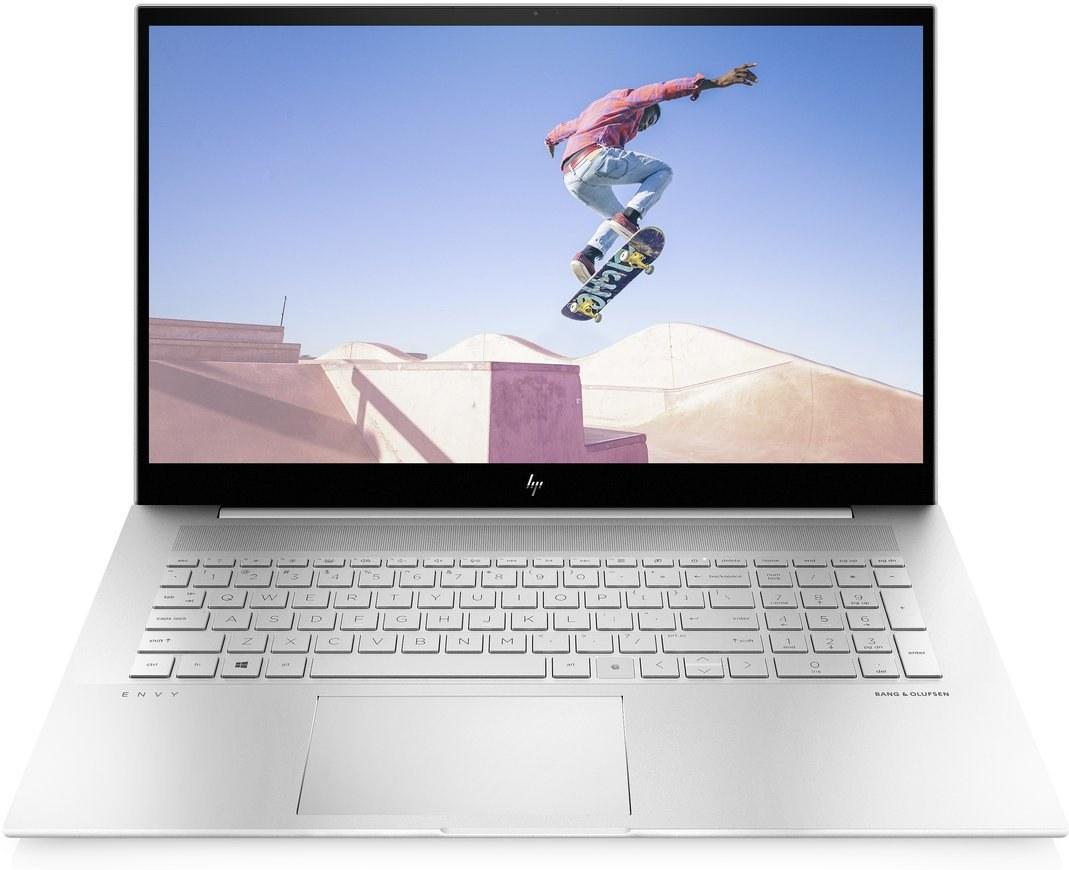 HP Envy 17-ch0004nc, strieborný