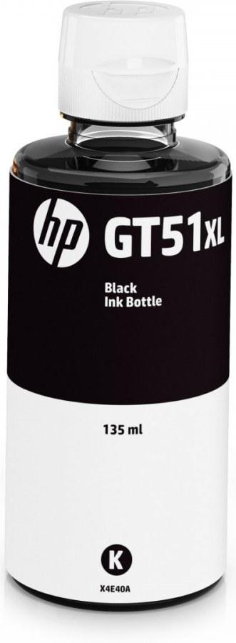 HP GT51XL, fľaša atramentu, čierna, 6000 strán, 135ml