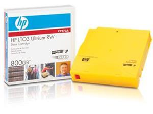 HP LTO-3 RW RFID Non Custom Labeled Data Cartridges (20 pack)