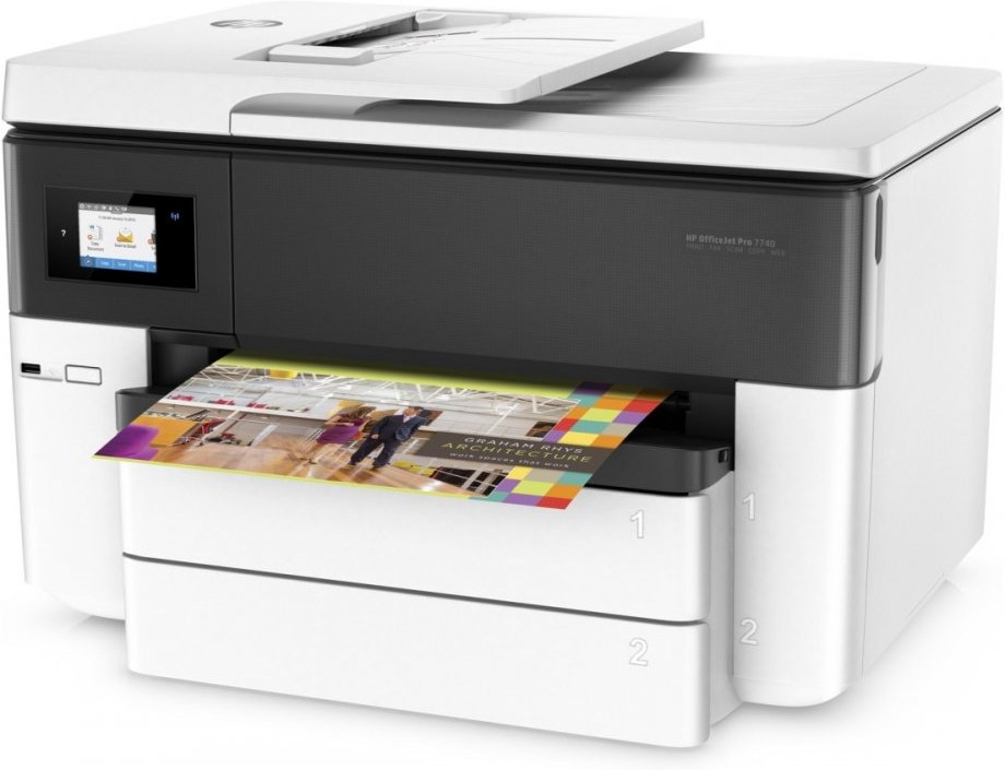 HP Officejet Pro 7740, A3