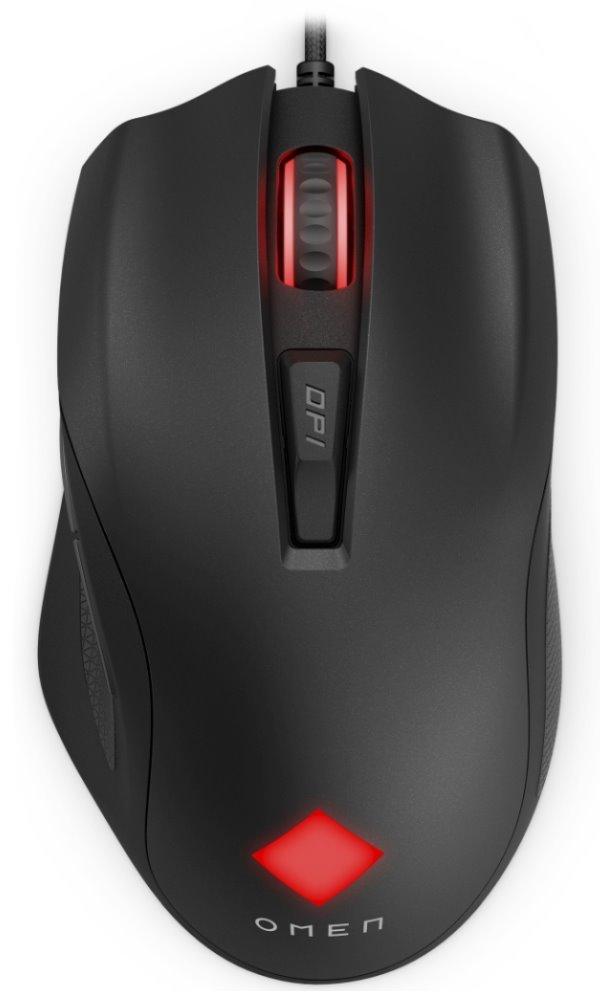 HP Omen Vector, herná myš, čierna