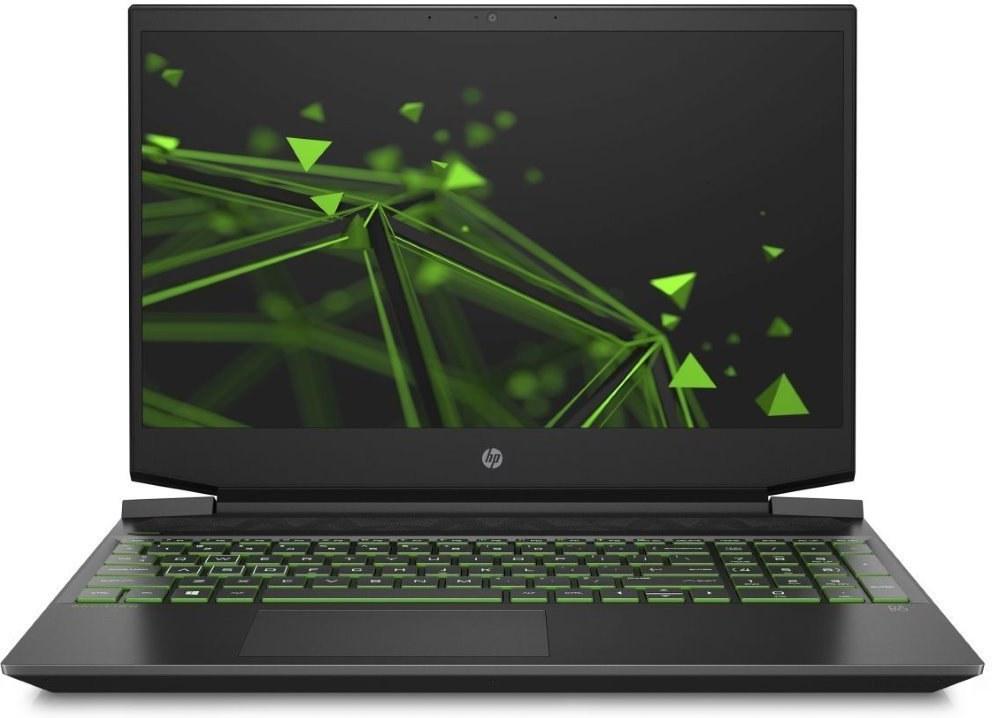 HP Pavilion Gaming 15-ec0016nc, čierny