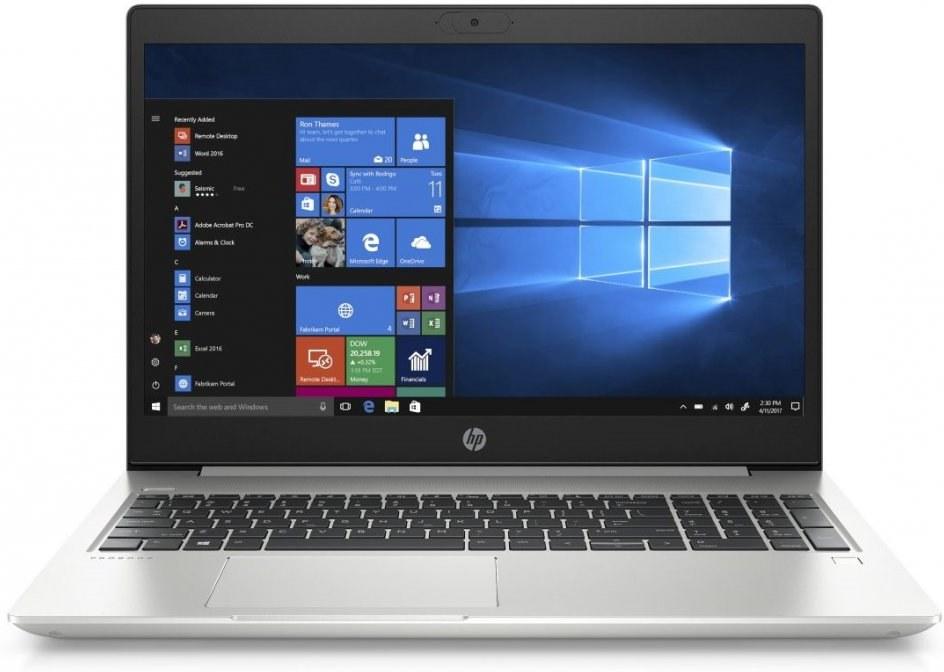 HP ProBook 455 G7, 12X19EA, strieborný