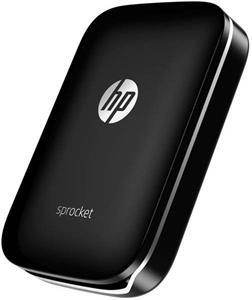 HP Sprocket Photo Printer, čierna - rozbalená