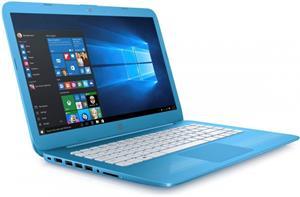 HP Stream 14-ax001nc X9W71EA, modrý