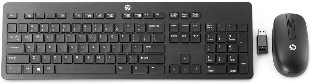 HP Wireless Slim Business Keyboard & Mouse