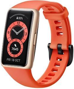 Huawei Band 6, fitness náramok, oranžový
