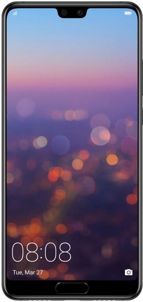 Huawei P20, fialový