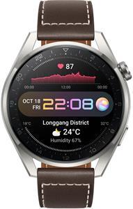 Huawei Watch 3 Pro, hnedé