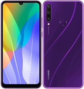 Huawei Y6P, 64 GB, Dual SIM, fialový