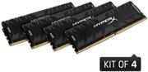 HyperX Predator, 4x8GB, 2666MHz, DDR4