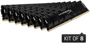 HyperX Predator, 8x16GB, 3000MHz, DDR4