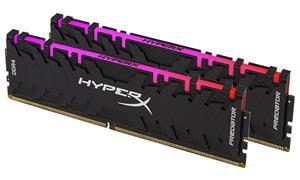 HyperX Predator RGB XMP, DDR4, DIMM, 3200 MHz, 16 GB (2x 8 GB kit), CL16