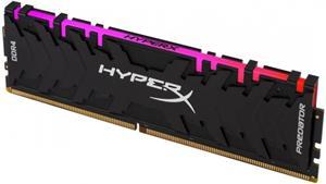 HyperX Predator RGB XMP, DDR4, DIMM, 3200 MHz, 8 GB, CL16