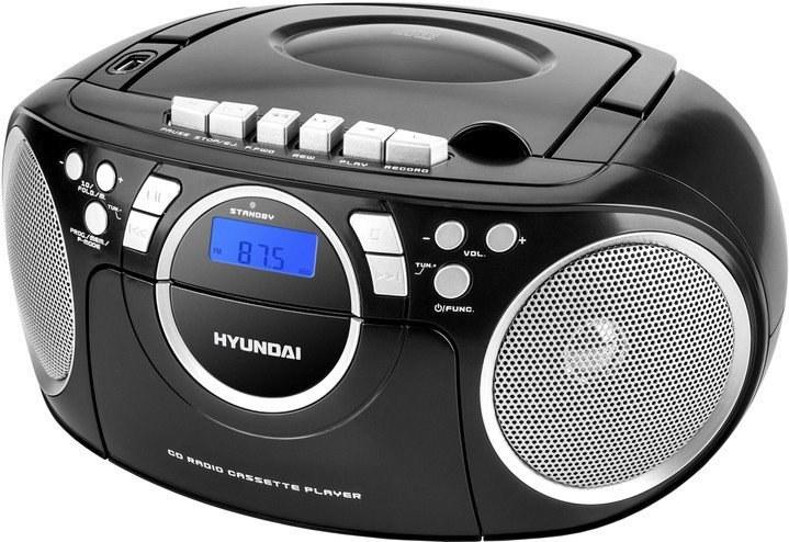 Hyundai TRC788AU3BS, rádio, čierne