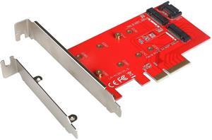 i-tec PCI-E 2x M.2 Card (PCI-E/SATA), sieťová karta