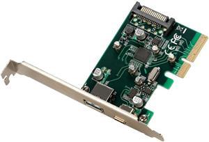i-tec PCI-E USB 3.1 Gen.2 10 Gbps Card USB-A & USB-C Port, sieťová karta