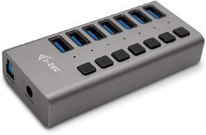 i-tec USB 3.0 Charging HUB 7port + Power Adapter 36W