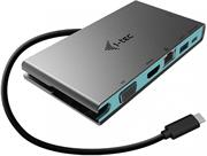 i-tec USB-C Travel Docking Station 1x HDMI 4K Ultra HD alebo VGA 20cm kábel