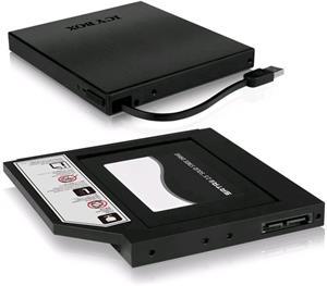 """ICY BOX IB-AC642, 2,5"""", rámček pre SSD + box na mechaniku"""