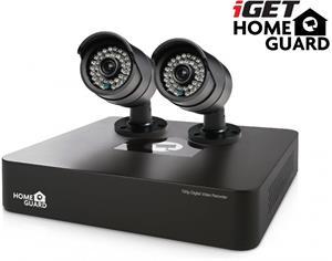iGET HGDVK46702 - CCTV 4CH DVR + 2x HD kamera 720p