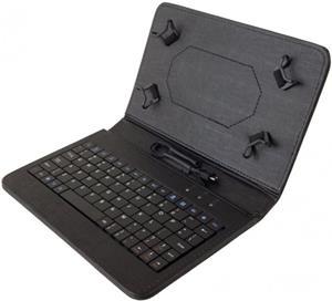 """iGET S7B, puzdro pre tablet 7"""" s klávesnicou, čierne"""
