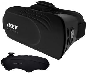 iGET Virtual R2, VR okuliare + BT diaľkový ovládač