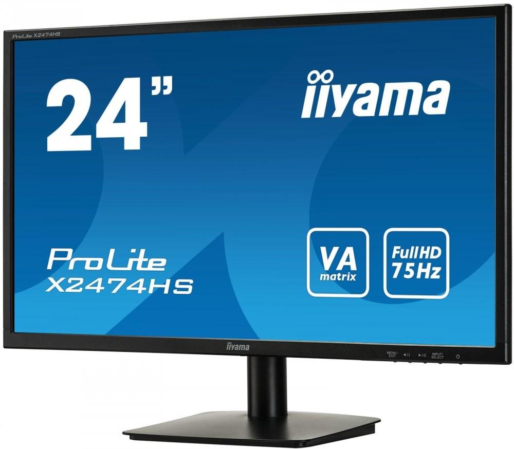 """iiyama X2474HS-B1, 24"""""""