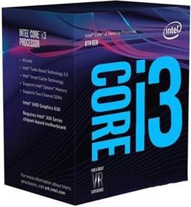 Intel® Core™i3-8350K - rozbalené