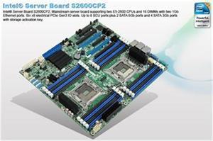 Intel® S2600CP2 (Canoe Pass) server board DP XeonE6-26xx 16 DIMM DDR3