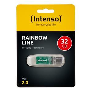 INTENSO - 32GB Rainbow Line 3502480