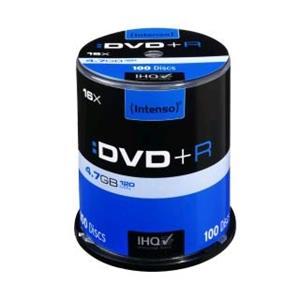 Intenso DVD+R [ cake box 100   4.7GB   16x ]