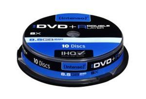 Intenso DVD+R DL 10 pack 8x/8.5GB