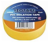 Izolační páska PVC 15/10 žlta