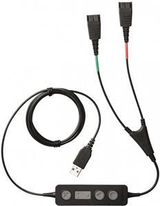 Jabra Link 265, USB s 2 QD