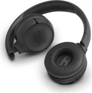JBL Tune 560 Black, náhlavné slúchadlá, čierne