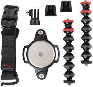 JOBY GorillaPod Rig Upgrade, statív, čierno-červený