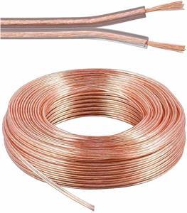 Kábel repro - tienená dvojlinka 2x2,5mm, 1m