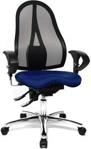 Kancelárske kreslo TOPSTAR Sitness 15 modré