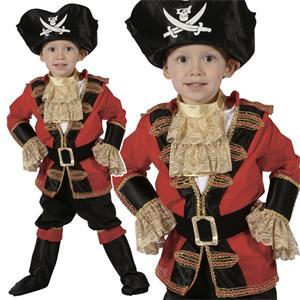 Karnevalový kostým Pirát 92 - 104cm