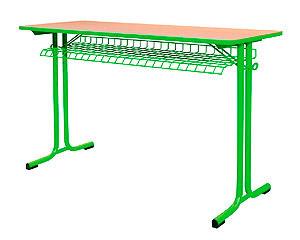 Karst školský stôl dvojmiestny