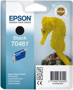 kazeta EPSON T048140 Black, RX500/RX600/R300 (13ml.)